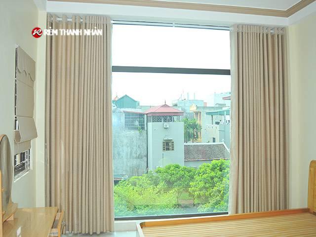 Rèm cửa vải Gấm cửa sổ phòng ngủ