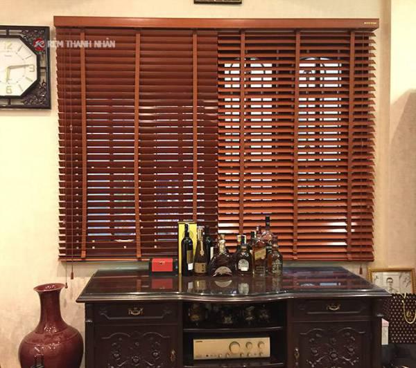 Rèm gỗ tự nhiên MSJ-305 cho phòng khách