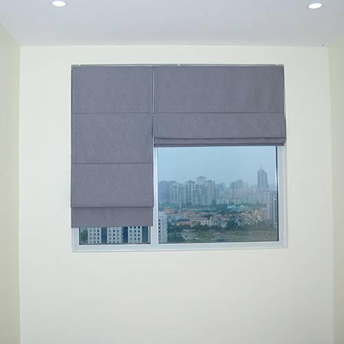 Rèm vải roman kẹp RM-22A-12 Hà Đông