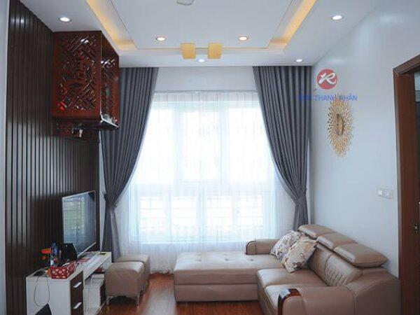 Rèm vải một màu HN-484-12 tại Hà Nội