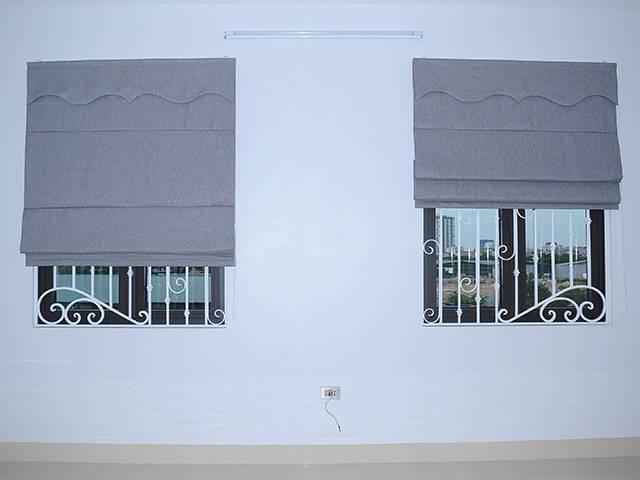 Rèm vải roman kẹp 2 lớp RM-484-12 cho phòng ngủ