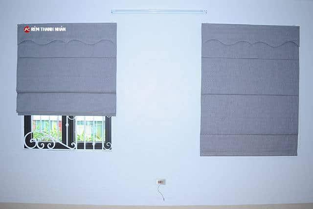 Rèm xếp lớp RXL-484-12 cho phòng ngủ