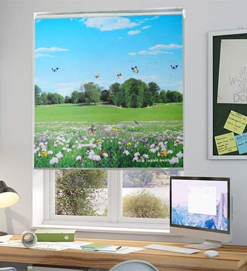 Rèm cuốn tranh Vạn Thái CT-016