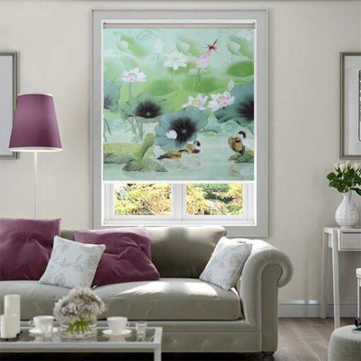 Rèm cuốn tranh CT-022-B