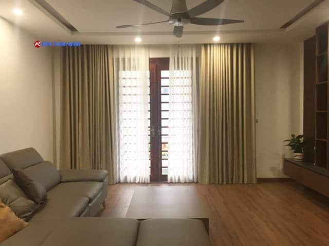 Rèm cửa 1 màu phòng khách