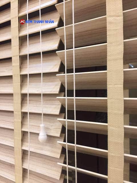 Rèm nhựa giả gỗ MSJ-507 hệ 2 dây