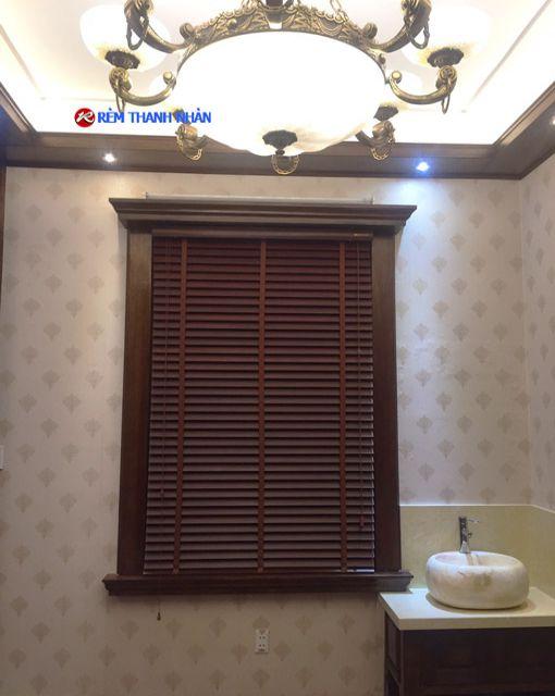 Mành gỗ Bách MSJ-703 phòng khách