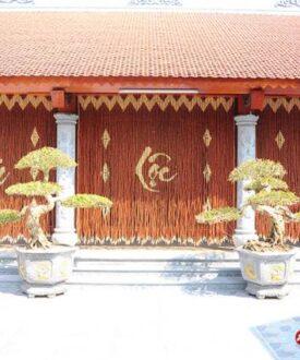 Rèm hạt gỗ Hương Phúc Lộc Thọ