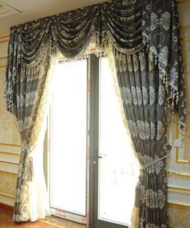 Rèm cửa hoa văn RV-2012-9