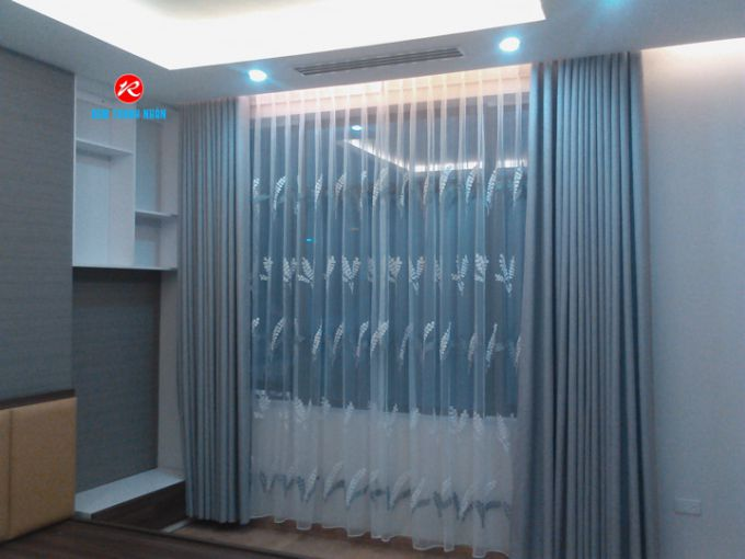 Rèm cửa chống nắng RV888 phòng ngủ