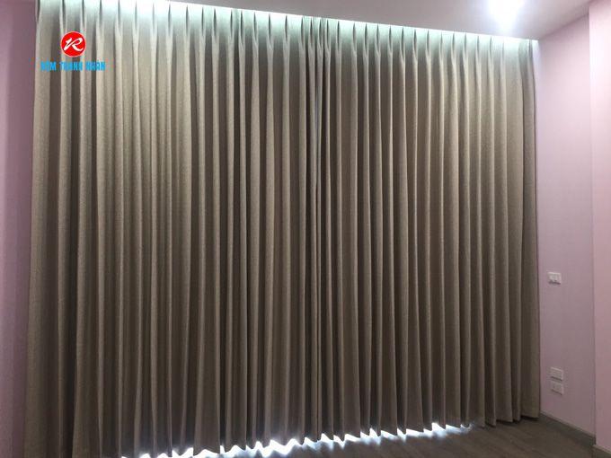 Rèm cửa vải Hàn Quốc Sam Sung S 03 cho phòng ngủ