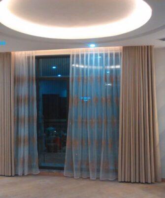 Rèm cửa chống nắng phòng khách RV888-14