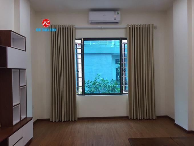 Hinh ảnh rèm vải nỉ vân RV950-6 phòng khách