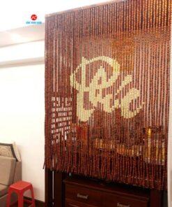 Rèm mành gỗ hạt phong thủy Ban Thờ