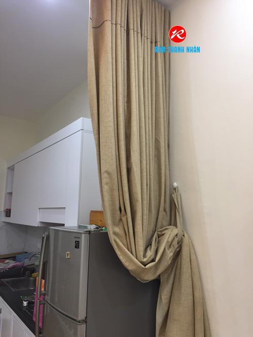 Rèm ngăn phòng khách, bếp và phòng bếp