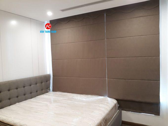 Rèm roman kẹp 2 lớp RM484-6 cửa sổ phòng ngủ