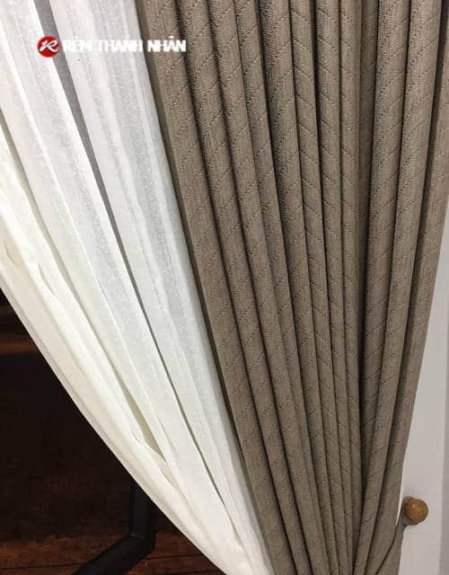 Vải rèm cửa chống nắng TN484-6