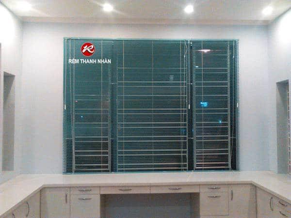 Công trình rèm sáo nhôm cửa sổ KĐT Dương Nội
