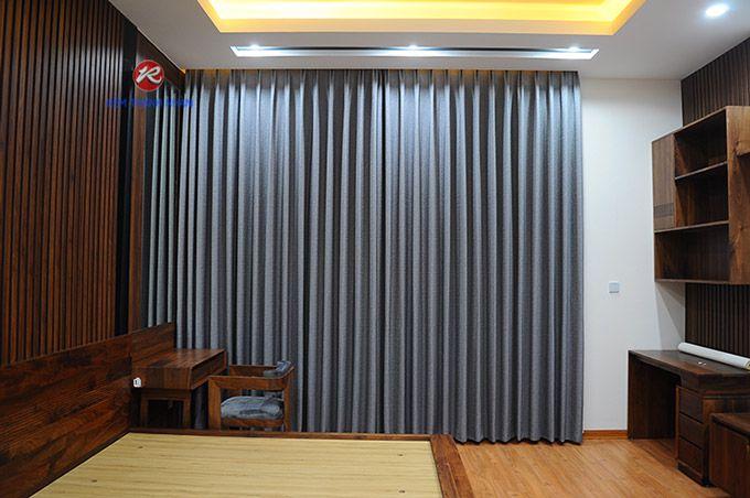 Rèm cửa sổ đẹp vải Hàn Quốc