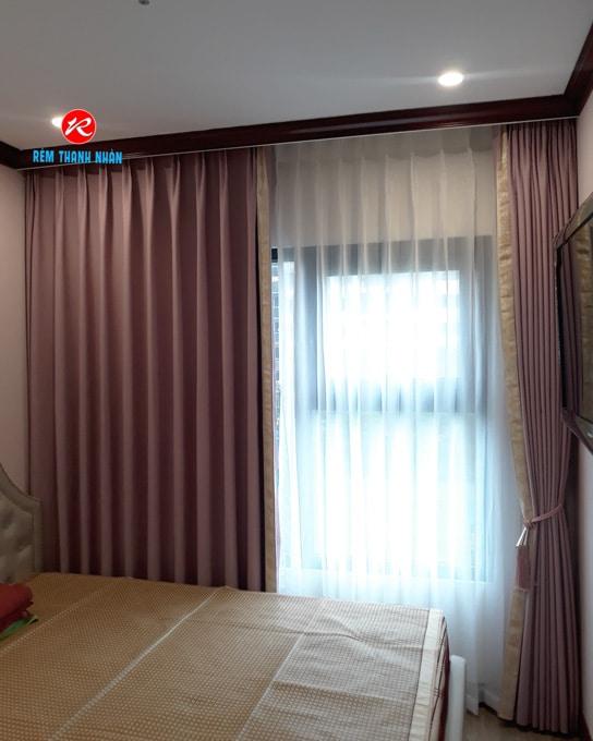 Rèm cửa đẹp vải Hàn Quốc nhập khẩu