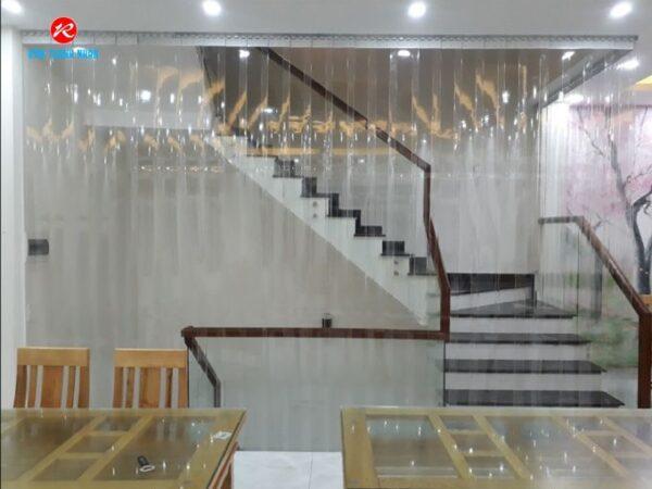 Bảng giá rèm nhựa PVC trong suốt, ngăn lạnh điều hòa tại Hà Nội