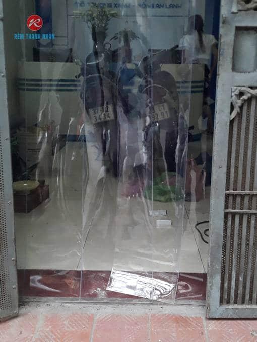 Rèm nhựa PVC trong suốt Thanh Nhàn