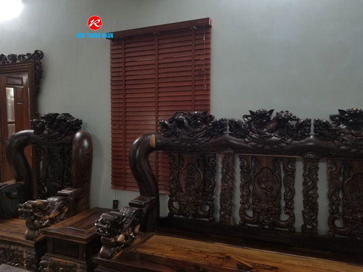 Rèm sáo gỗ Tượng mã msj-194 Grace Home