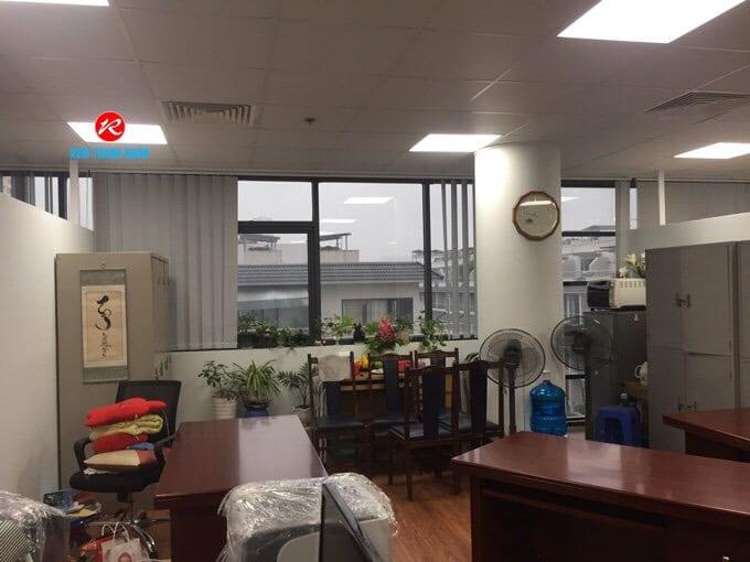 Mẫu rèm lá dọc văn phòng